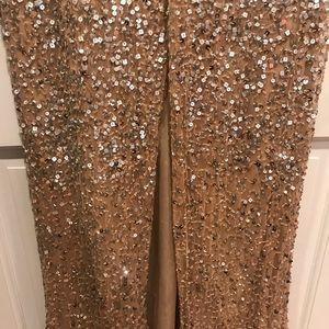 Parker Dresses - Parker Black sequin gown, size 8